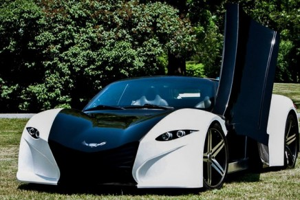 """Tomahawk 2+2 all-electric supercar aims to """"complete the Tesla line"""""""