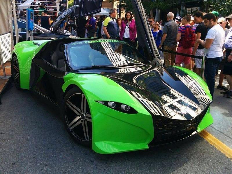 Dubuc Motors Tomahawk-green