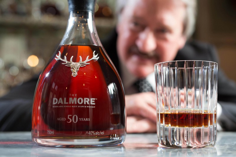 Each decanter of The Dalmore 50 will be adorned with a solid silver stag created by silversmiths Hamilton & Inches, holder of The Royal Warrant