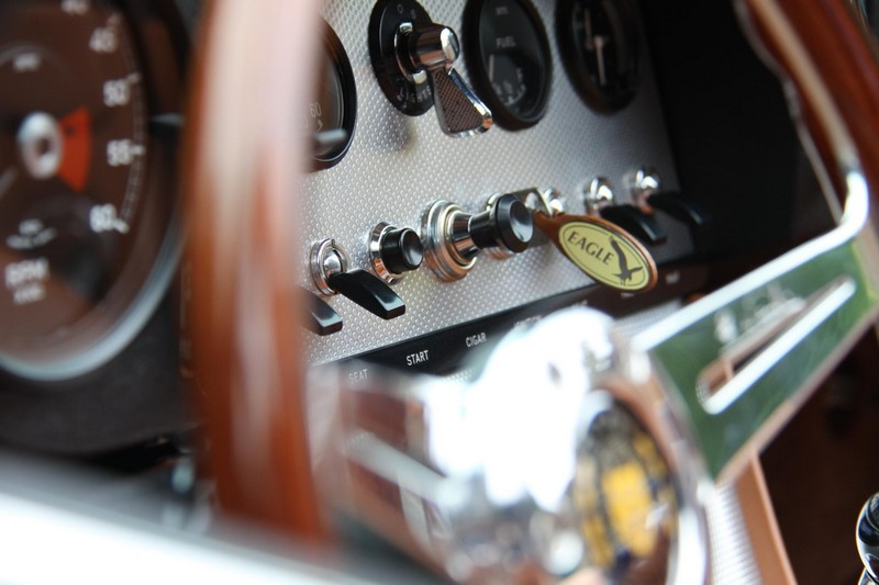 Eagle E-Types Spyder GT- cockpit details