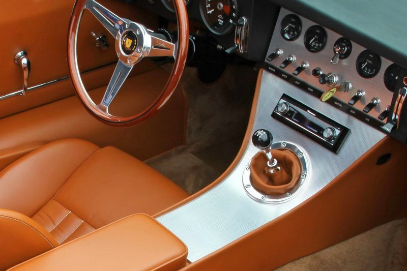 Eagle E-Types Spyder GT- interior