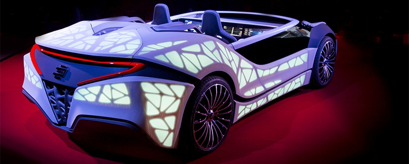 Edag Soulmate Geneva Motor Show 2016 - EDAG and Bosch materialized the idea that the car can be more than just a means of transpor