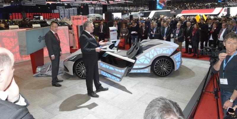 Edag Soulmate Geneva Motor Show 2016 - booth