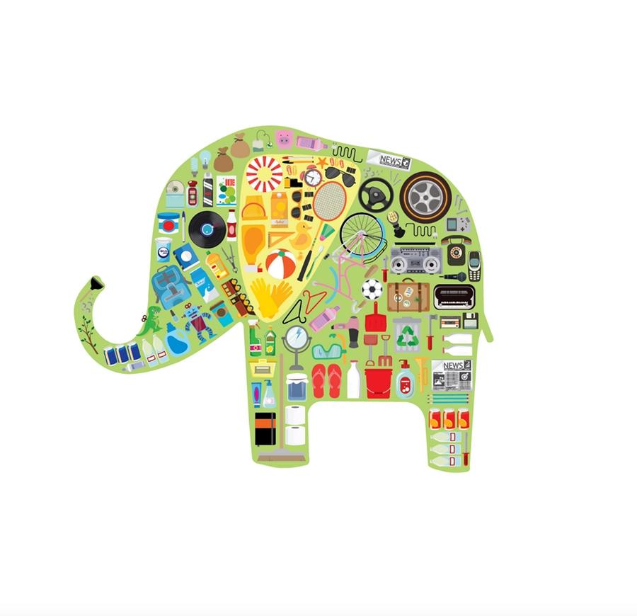 Elephant RUN sculpture competition