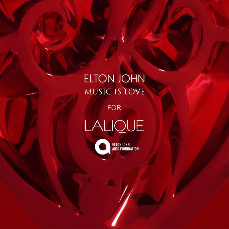 Elton John Music is Love for Lalique 2015