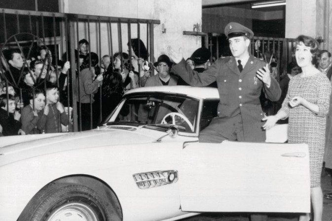 The restored BMW 507 Elvis Presley roadster to be presented at Pebble Beach Concours d'Elegance