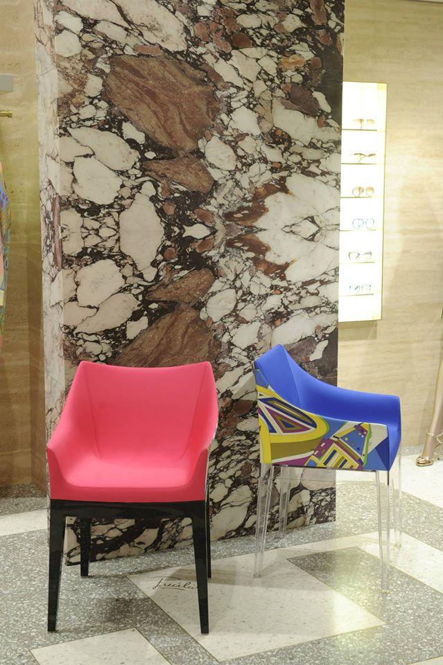 Emilio Pucci boutique in Milan, via Montenapoleone-