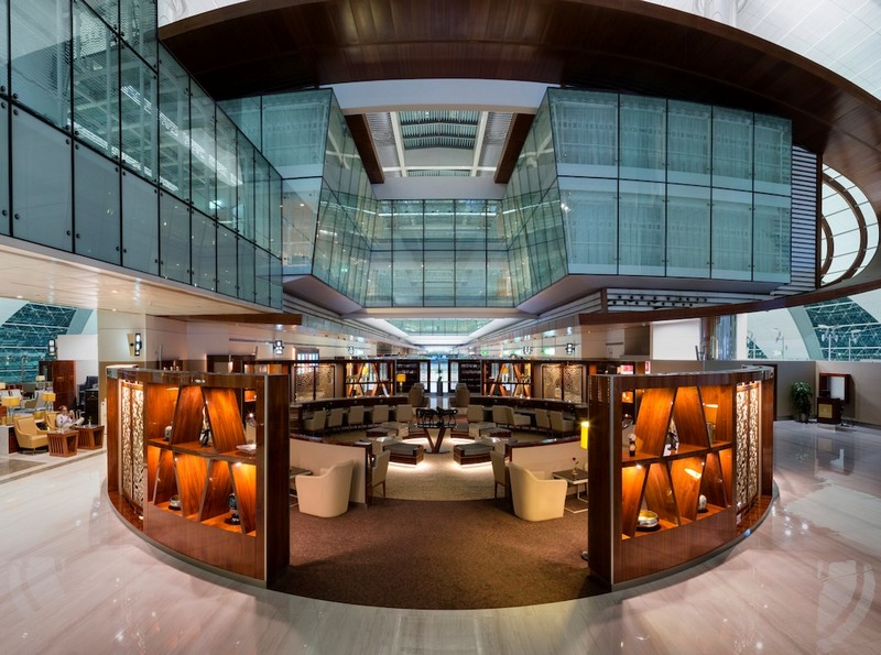 emirates-completed-us11-million-makeover-of-its-business-class-lounge-at-dubai-international-airport