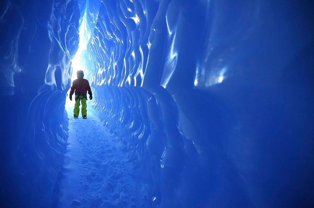 entering-the-ice-tunnels-whichaway-camp-in-antarctica