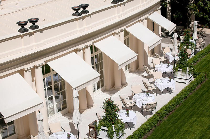 Epicure Terrace at Hotel Le Bristol Paris
