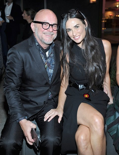 Eric Buterbaugh and Demi Moore in Beverly Hills