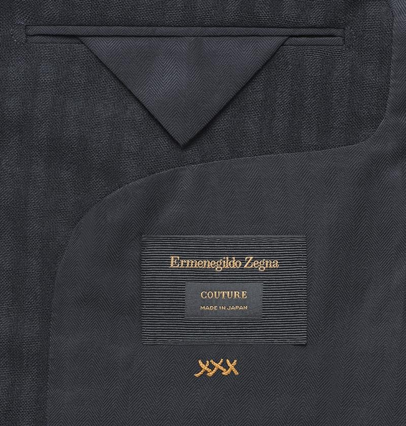 Ermenegildo Zegna Couture Made in Japan - a menswear limited edition collection