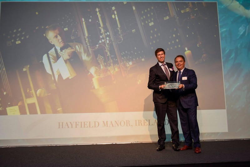 Ettienne Van Vrede, General Manager Hayfield Manor in Cork, Ireland with CEO for SLH, Filip Boyen
