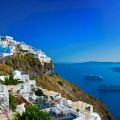 Europe_Greece_Santorini_View of Fira town with volcano_attraction_landmark_travel.jpg
