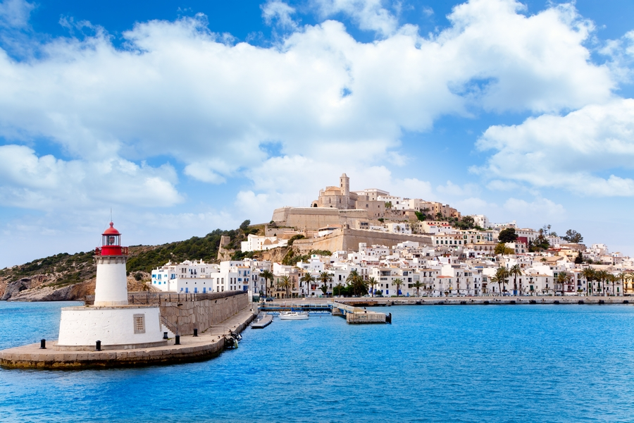 Europe_Spain_Ibiza_Red lighthouse red beacon in Balearic Islands_attraction_landmark_travel.jpg