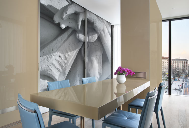 Excelsior Hotel Gallia, a Luxury Collection Hotel, Milan-renovation 2015-Art Suite Living Room