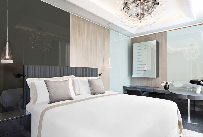Excelsior Hotel Gallia, a Luxury Collection Hotel, Milan-renovation 2015-Design Suite Bedroom