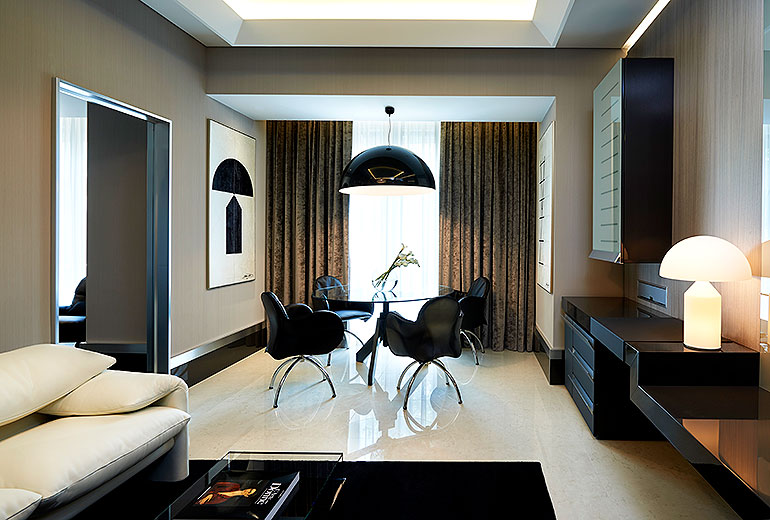 Excelsior Hotel Gallia, a Luxury Collection Hotel, Milan-renovation 2015-Design Suite Living Room