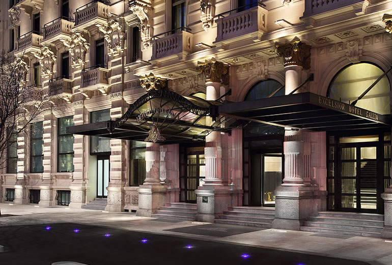 Excelsior Hotel Gallia, a Luxury Collection Hotel, Milan-renovation 2015-Facade Detail