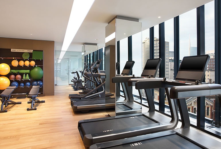 Excelsior Hotel Gallia, a Luxury Collection Hotel, Milan-renovation 2015-Fitness Center