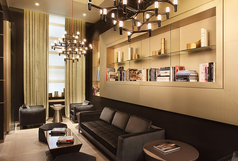 Excelsior Hotel Gallia, a Luxury Collection Hotel, Milan-renovation 2015-Library