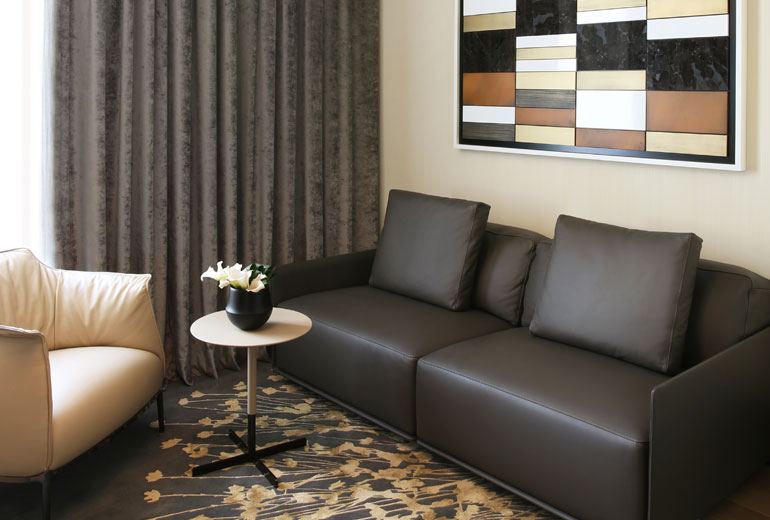 Excelsior Hotel Gallia, a Luxury Collection Hotel, Milan-renovation 2015-Signature Suite Living Room 2