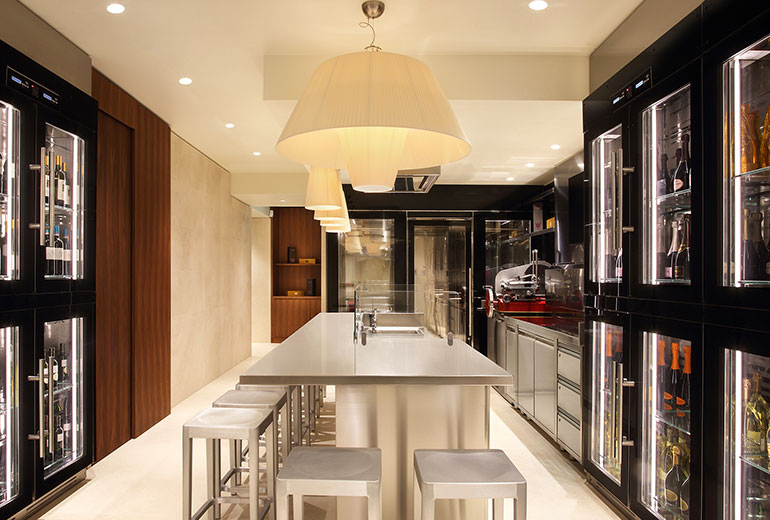 Excelsior Hotel Gallia, a Luxury Collection Hotel, Milan-renovation 2015-Wine Cellar
