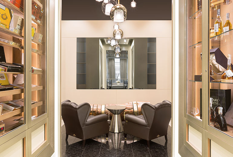 Excelsior Hotel Gallia, a Luxury Collection Hotel, Milan-renovation 2015Cigar Room