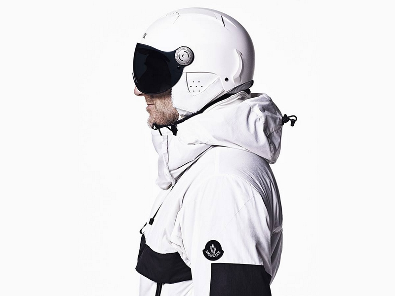 Explorer and superhuman  Michele Pontrandolfo in the World's First Lone Exploration of the South Pole.