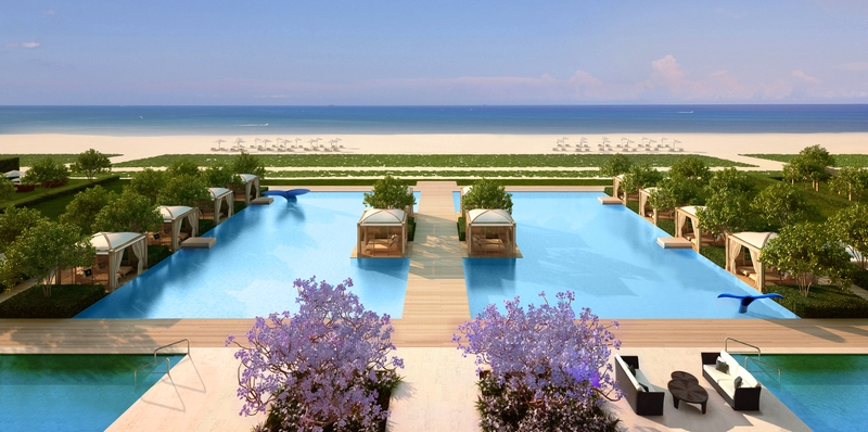 FENDI Château Residences Miami-ocean
