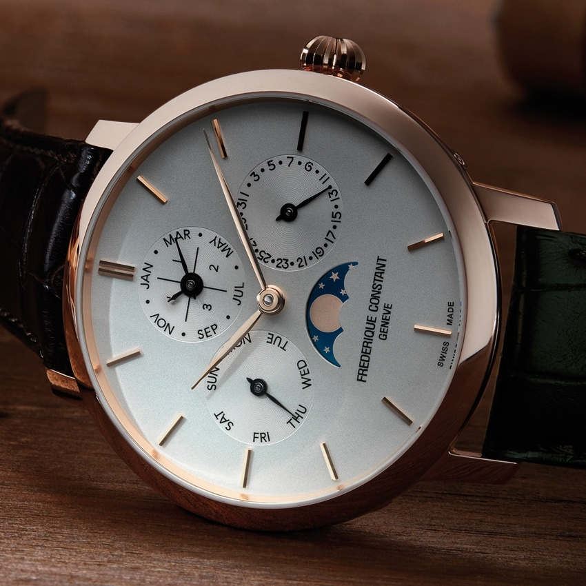 FREDERIQUE CONSTANT Manufacture Perpetual Calendar watch-
