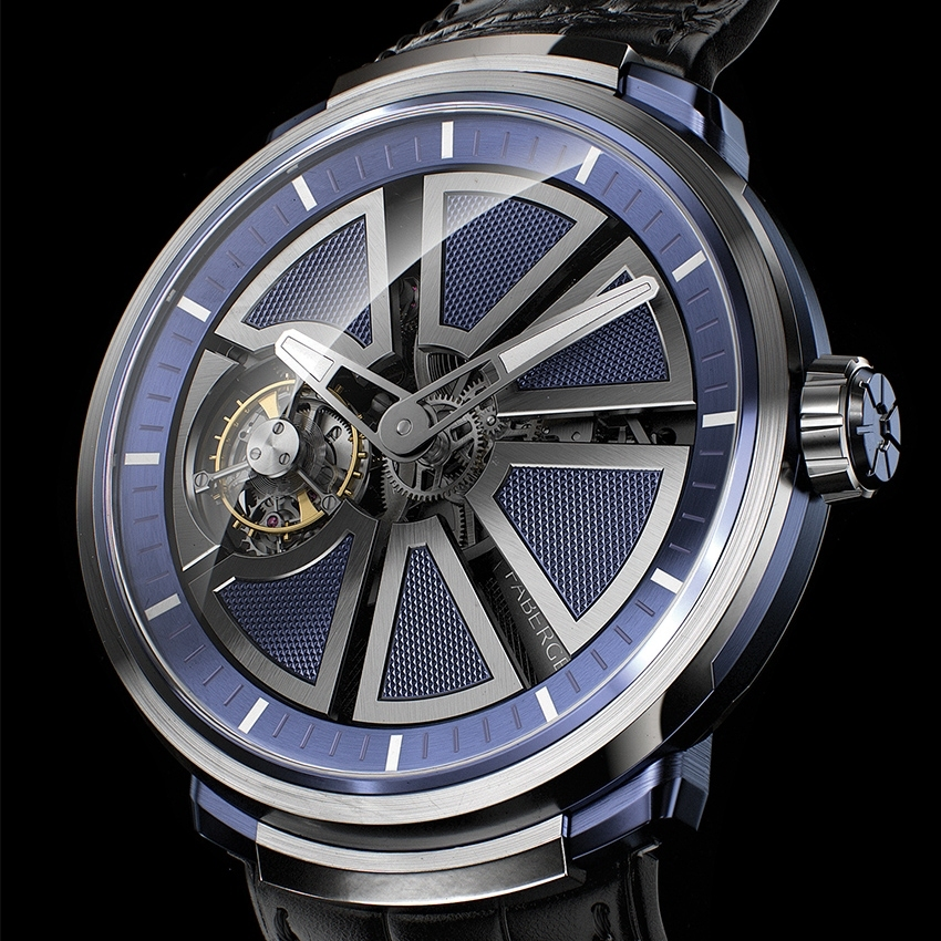 Faberge Visionnaire 1 timepiece - Fabergé's first complicated watch
