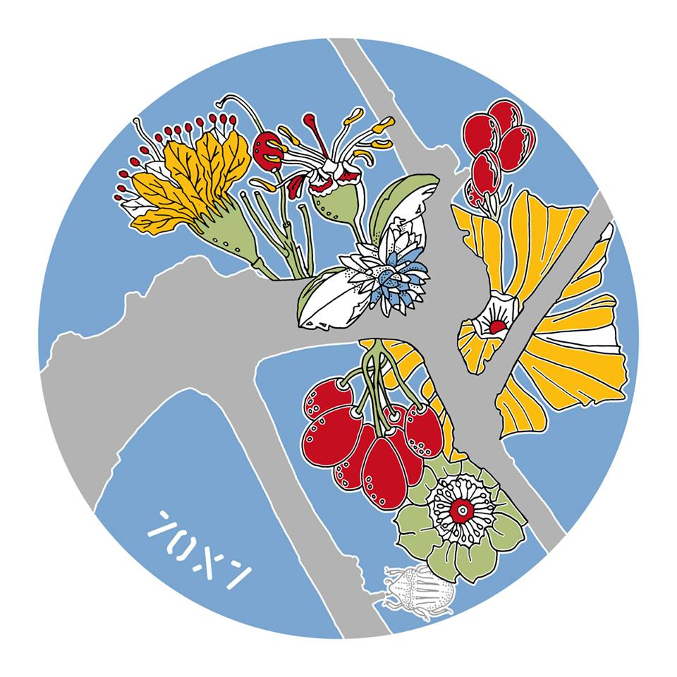 Fabulae Naturae by Lucy + Jorge Orta Limoges porcelain plates-limited edition 2015