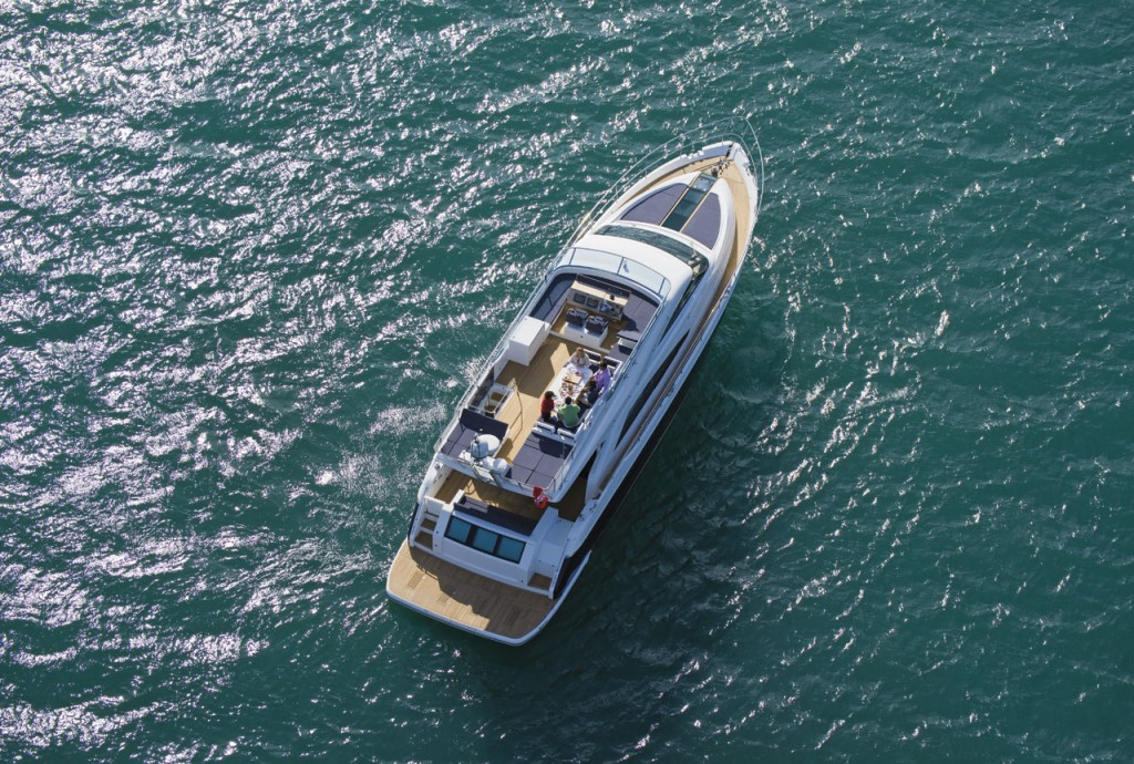 Fairline Yachts -Squadron 65 Hard Top Aerial