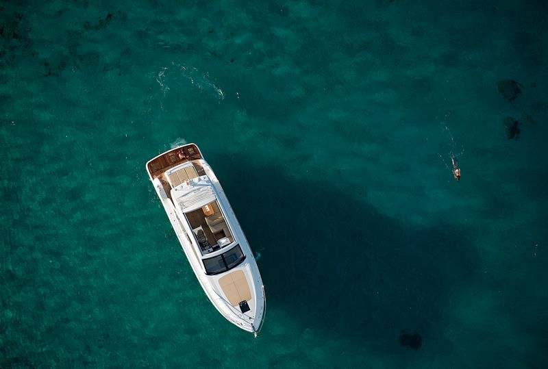 Fairline Yachts -Targa48 Open-aerial view