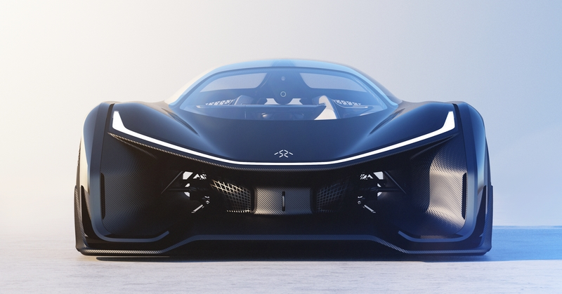 Faraday FFzero1 concept - CES 2016-