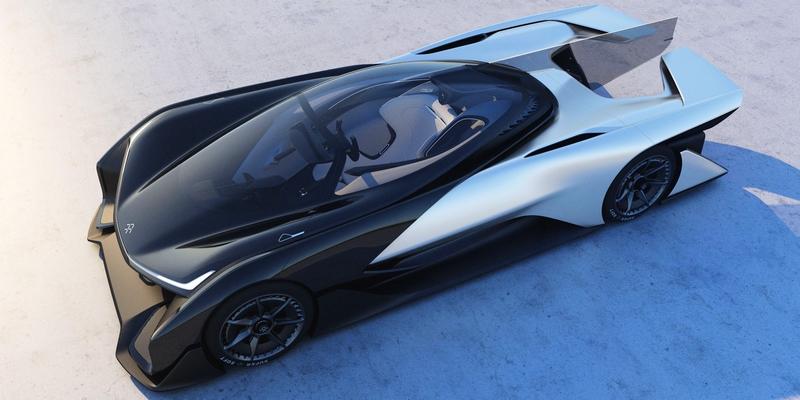 Faraday FFzero1 concept - CES 2016--