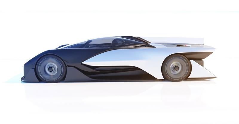 Faraday FFzero1 concept electric race car