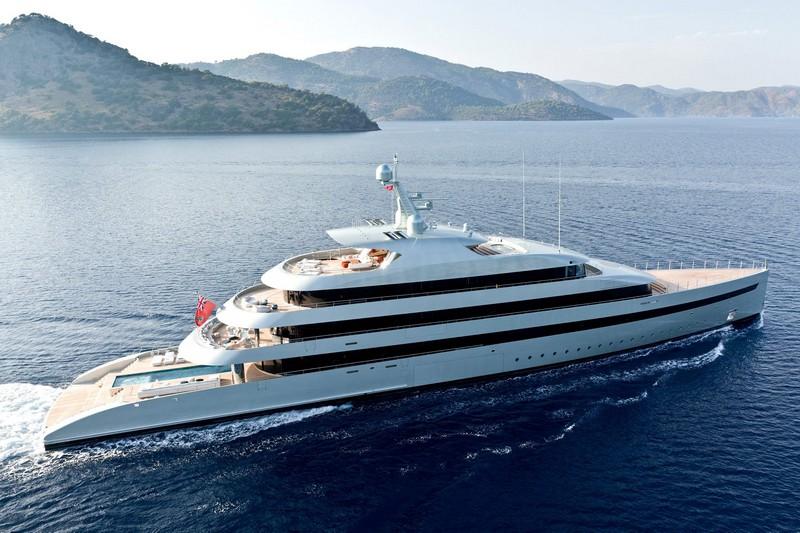 Feadship Savannah, the world's first hybrid super-motoryacht