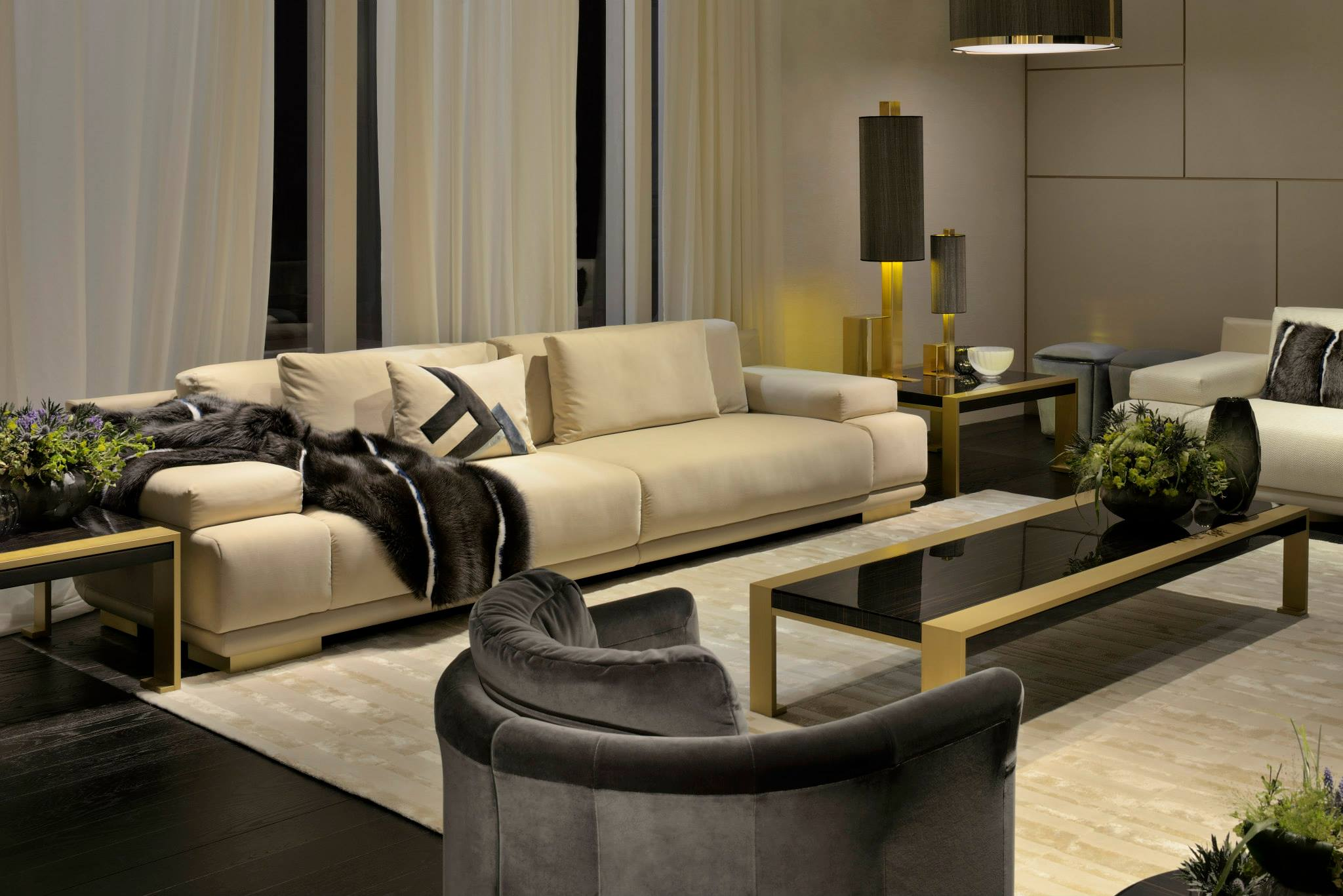 fendi casa collection by thierry lemaire2luxury2 com. Black Bedroom Furniture Sets. Home Design Ideas