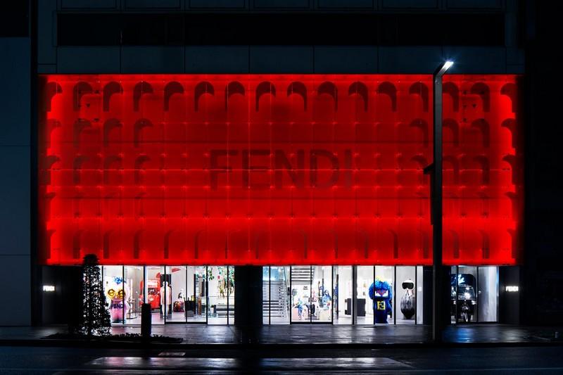 Fendi Ginza Tokyo 2015 opening