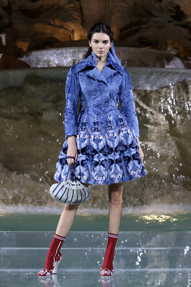 Fendi The Legends and Fairy Tales fashion show at the Trevi Fountain in Rome-2016