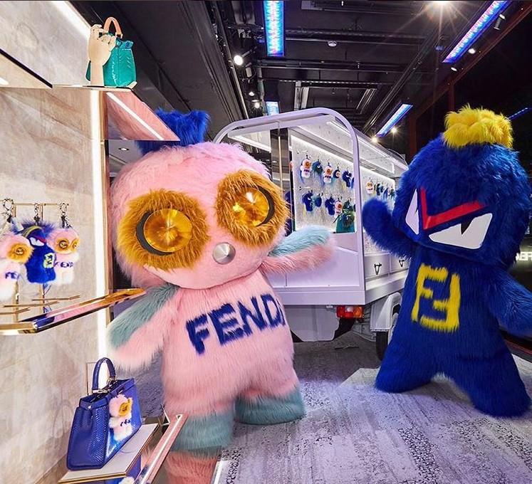 Fendirumi pop up store at Harrods London 2016