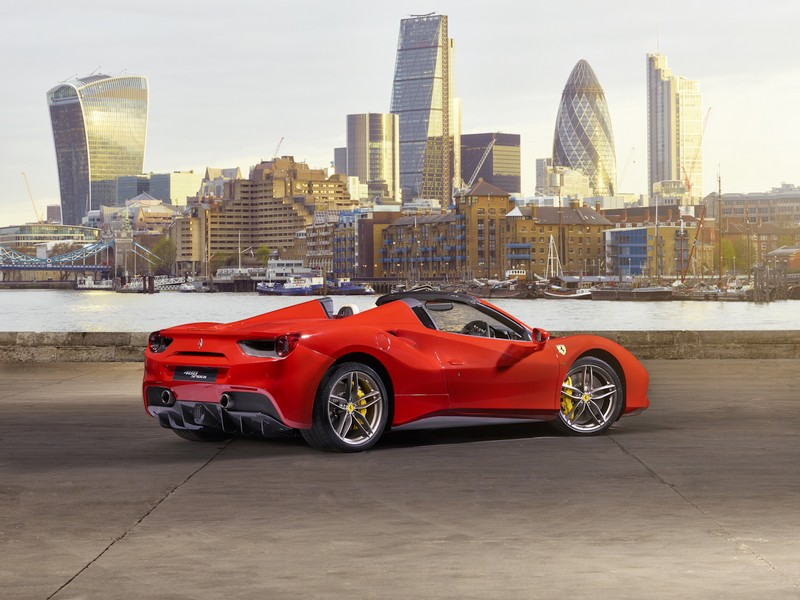 Ferrari 488 Spider Launch  in London-2016--