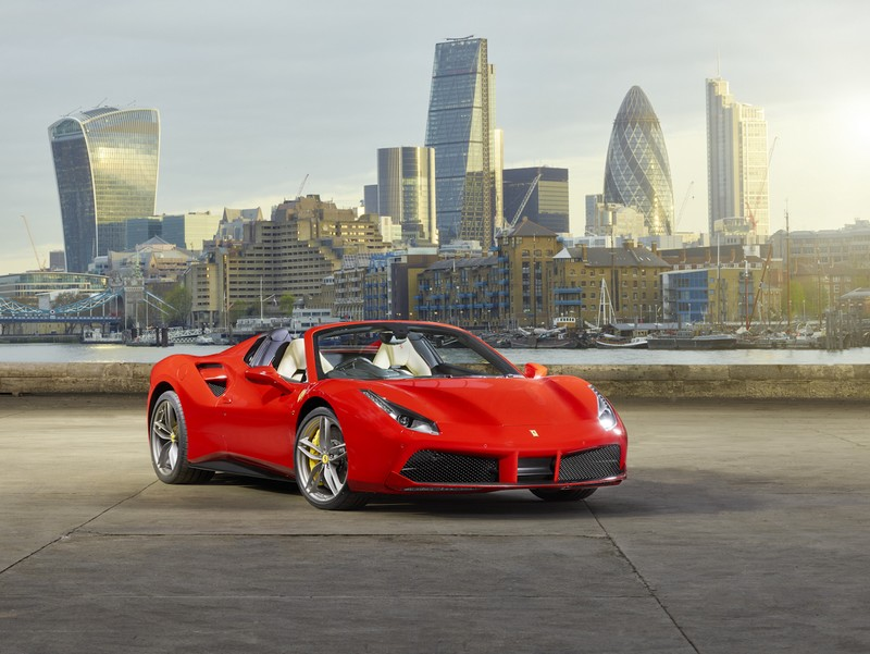 Ferrari 488 Spider Launch  in London-2016---
