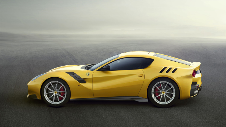 Ferrari F12 TdF paying homage to the Tour de France--