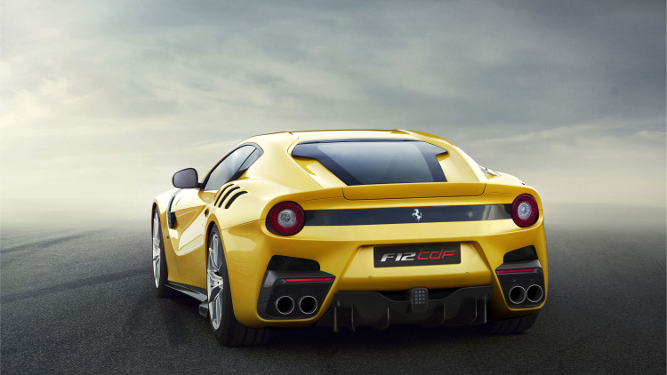 Ferrari F12 TdF paying homage to the Tour de France---