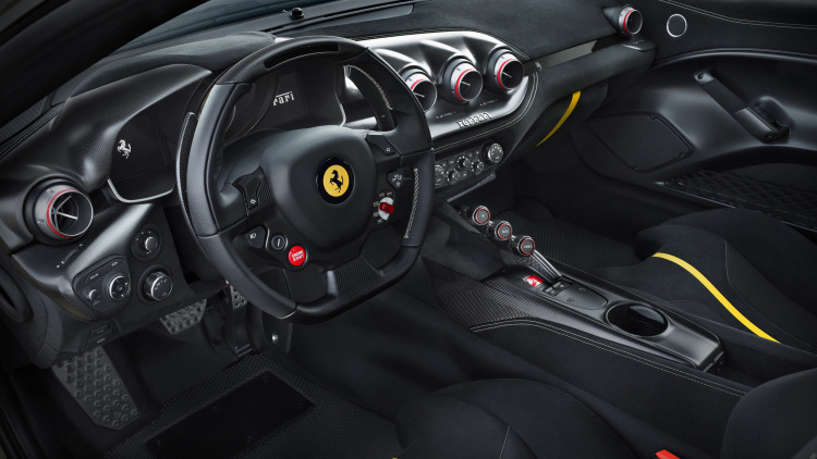Ferrari F12 TdF paying homage to the Tour de France---int