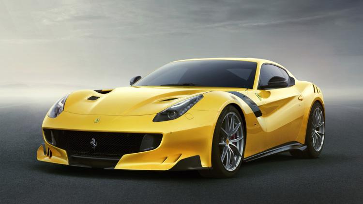 Ferrari F12 TdF paying homage to the Tour de France