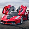 Ferrari FXX K- opened doors